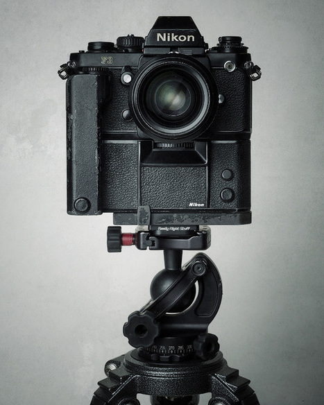 Beautiful Studio Portraits of Vintage Gear | photography | Scoop.it