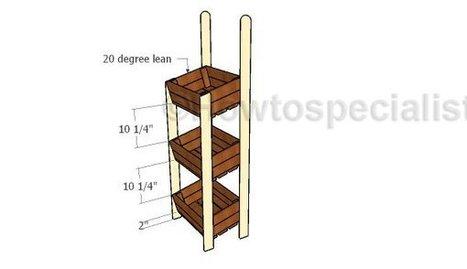 Crate Display Stand | Garden Plans | Scoop.it