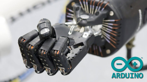 Leap Motion Arduino Animatronic Hand Robot | Open Source Hardware News | Scoop.it