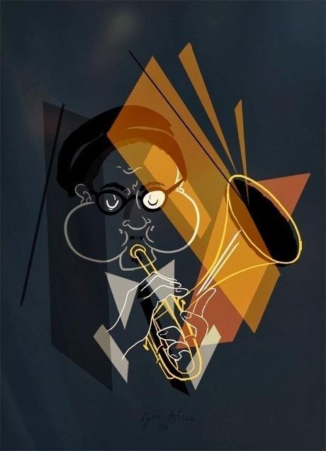 Jazz and draw: Dizzy Gillespie - Take the A train | Jazz Plus | Scoop.it