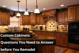 Custom Cabinets: Questions You Need to Answer Before You Remodel - Kitchen Solvers | Custom Cabinet | Scoop.it