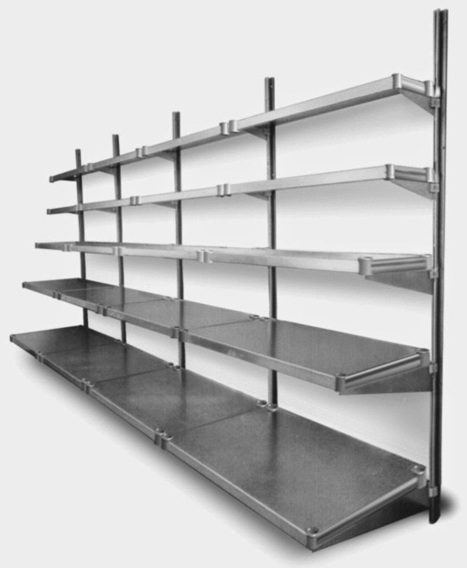 What is Cantilevered Shelving?: What is Cantilevered Shelving? | MSS Houston | Scoop.it