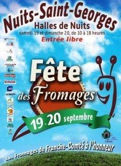 Nuits-Saint-Georges accueille la fête des fromages de Bourgogne les 19 et 20 septembre | The Voice of Cheese | Scoop.it