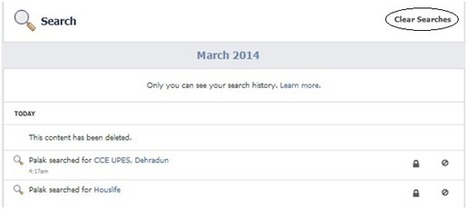 How to Delete Your Facebook Search History | Digital-News on Scoop.it today | Scoop.it