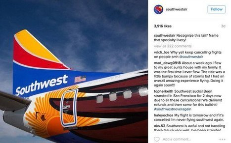 6 Unforgettable Lessons from Southwest Airlines Social Media Crisis   better brand engagement   Scoop.it