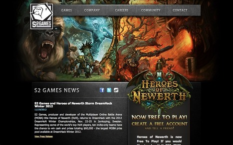 23 Brilliant Indie Game Development Studio Websites | Inspiration | Scoop.it