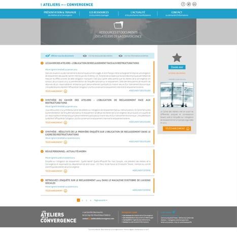 Atelier de la Convergence, Création de site Internet // Refonte graphique | Nos réalisations  - KiwiLab | Agence Web KiwiLab: Veille référencement web et Blog web 2.0 | Scoop.it