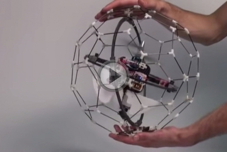 Meet GimBall: The Crash-Proof Drone | Fstoppers | HDSLR | Scoop.it