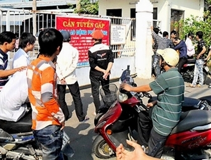 "[Vietnam] Why workers from some central provinces ""boycotted?"" 
