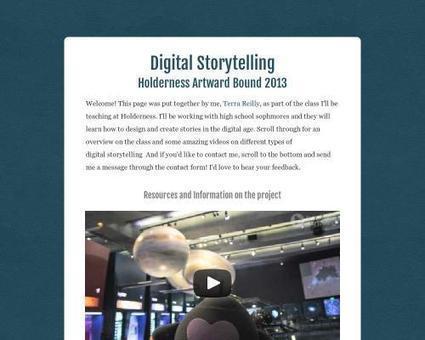 Digital Storytelling - Tackk | pre-service teacher ideas | Scoop.it