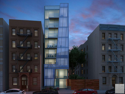 Angular 8-Story Building May Rise On Empty Harlem Lot - Curbed NY   stuff   Scoop.it