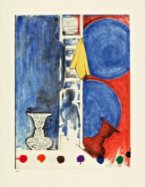 The Katonah Museum presents Jasper Johns 3 decade Collaboration of the Artist & His Master Printer   Jasper Johns   Scoop.it
