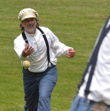 1860s-style baseball game to benefit ALS research - Herald Times Reporter | ALS | Scoop.it