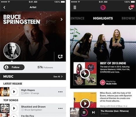 Détails sur la difficile intégration de Beats dans iTunes | A Kind Of Music Story | Scoop.it