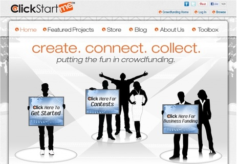 ClickStartMe: Create. Connect. Collect. | Just Tell Us about | Scoop.it