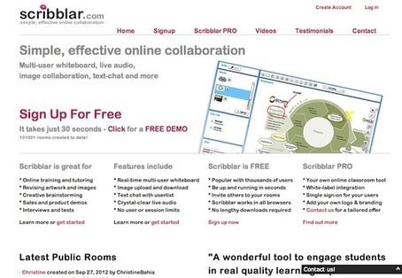 The 20 best tools for online collaboration | Design | Creative Bloq | Tablet opetuksessa | Scoop.it