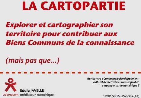 Cartoparties, numérique et développement culturel des territoires | Cartes libres et médiation numérique | Scoop.it