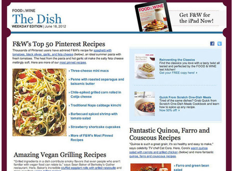 Pinterest and Integrated Content Inspire Summer Campaigns   ClickZ   Pinterest   Scoop.it