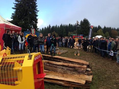Franche-Comté: ça a envoyé du bois à Goux-les-Usiers ! | On parle des CUMA ! | Scoop.it