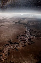 Le Grand Canyon vu de l'espace | ART on www.WikiLinks.fr | Scoop.it