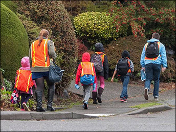Could walking to school reduce childhood obesity? | Salud Integral | Scoop.it