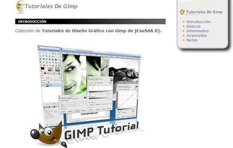 Colección de tutoriales en español para aprender el uso de GIMP | Aplicaciones para crear | Scoop.it