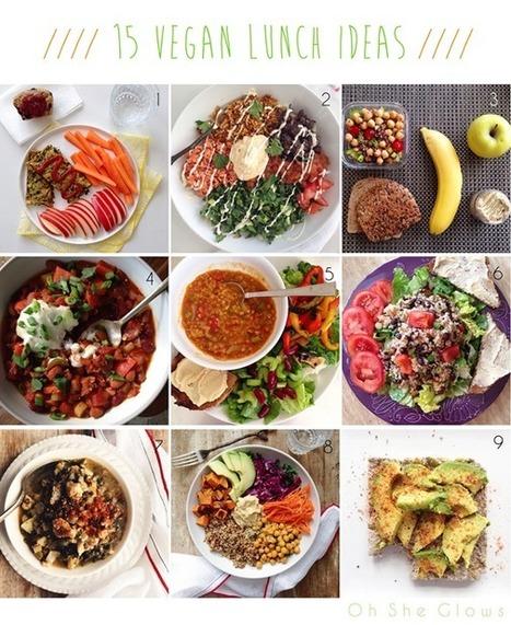 15 Vegan Lunch Ideas! — Oh She Glows   My Vegan recipes   Scoop.it