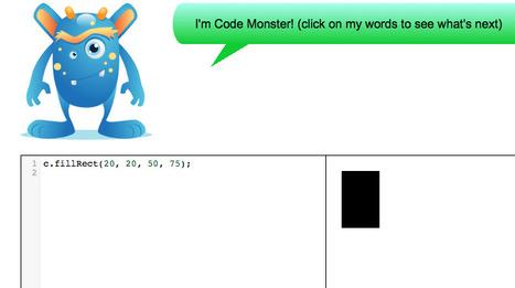 Code Monster from Crunchzilla | talkprimaryICT | Scoop.it