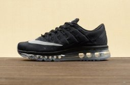 Nike Air Max 2016 Running Shoes Black Grey Unisex | Nike Running Shoes | Scoop.it