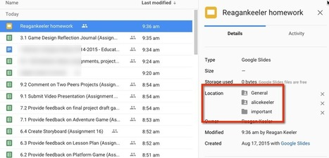 Google Drive: Locate Your Files ^ Teacher Tech ^ by Alice Keeler | Into the Driver's Seat | Scoop.it