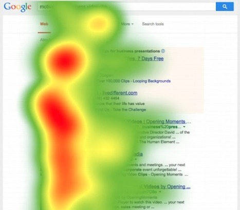 Tempi duri per SEO e SEM: l'eye tracking su Google ci dice perché - Ninja Marketing | SEO ADDICTED!!! | Scoop.it