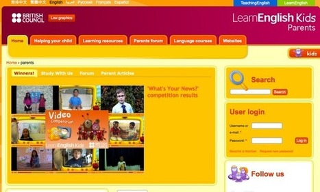 Online learning resources at British Council | Welcome to Super ... | inspiring | Scoop.it