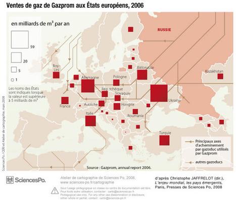 Russie, Gazprom, ventes de gaz aux États européens - 2006 | Europe Centrale | Scoop.it