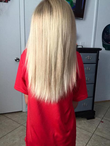 Malgré les moqueries, ce petit garçon s'est laissé pousser les cheveux pour les offrir aux enfants cancéreux | Je, tu, il... nous ! | Scoop.it