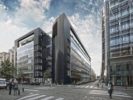 BLACK PEARL, UN NOUVEL IMMEUBLE DE BUREAUX | Construction Durable à Bruxelles | Scoop.it