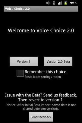 Voice Choice 2.0 v2.0.10   Chemical Engineering   Scoop.it