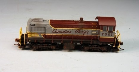 White River Division: CP Alco Switcher - N Scale | Model Railroading | Scoop.it