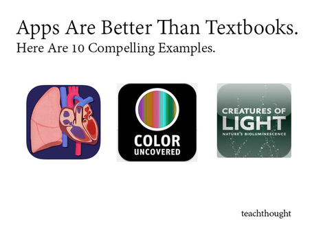 Apps Are Better Than Textbooks. Here Are 10 Compelling Examples. | E-learning in classroom. E-learning with iPad | Scoop.it