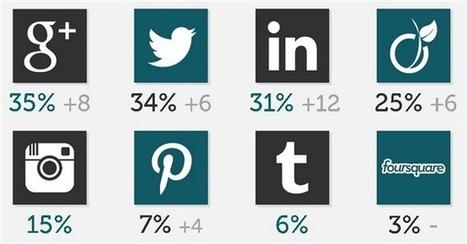 Les Français et les réseaux sociaux : portrait-type des utilisateurs en 9 chiffres-clefs 2013 | Stratégie digitale | Scoop.it