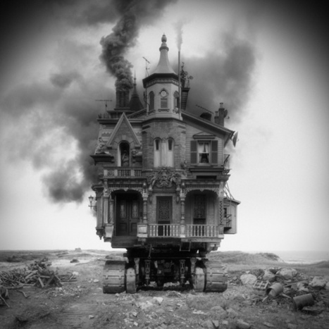 A Mix And Match Of Architectural Styles Informs These Fantastical Buildings | The Creators Project | Matmi Staff finds... | Scoop.it