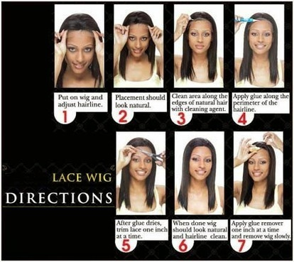 How to wear a lace front wig easily and quickly | The Lace Wigs Store | Look and Feel Glamorous for less! | Scoop.it