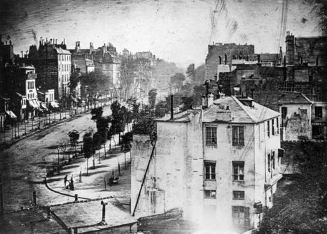 La première photo montrant une personne en 1838 par Daguerre | La boite verte | Bureau de curiosités | Scoop.it