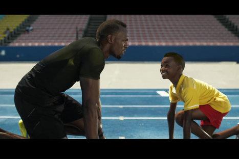 [Focus] Usain Bolt et Serena Williams en version mini-me : le spot cute de la semaine signé Gatorade | Brand content, stratégie de contenu, curation | Scoop.it