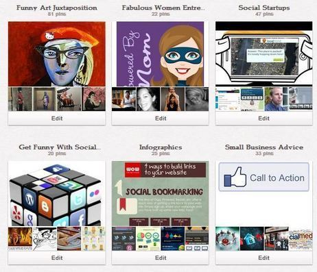 8 Business Lessons From Pinterest | Social Media Butterfly | Scoop.it