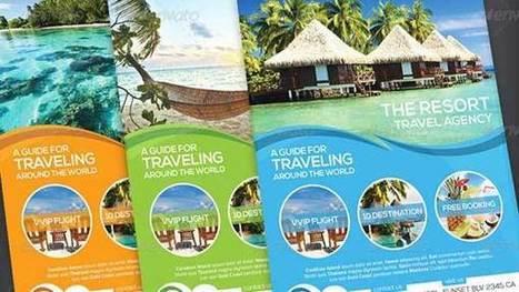 35+ Best Travel Brochure Agency Templates - Designsave.com | Freebies and Resource | Scoop.it