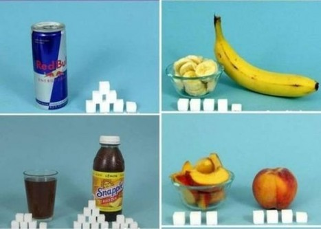 Foods Compared to Their Sugar Cube Content [pics] | Technology Ideas | Scoop.it