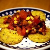 Quick, Vegan, and Gluten-Free: Polenta and Beans | My Vegan recipes | Scoop.it