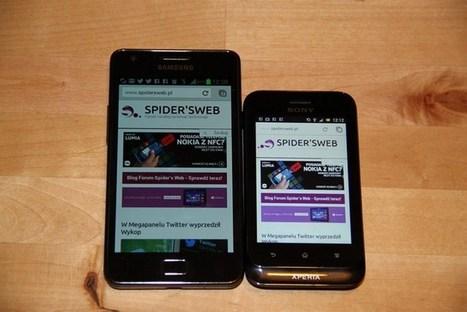 Test telefonu Sony Xperia Tipo - Recenzja smartfonu | Mobile | Scoop.it