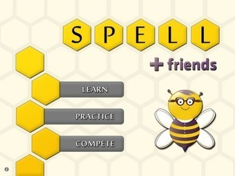 Spell + Friends iPad App Helps Students Learn to Spell | IPAD, un nuevo concepto socio-educativo! | Scoop.it