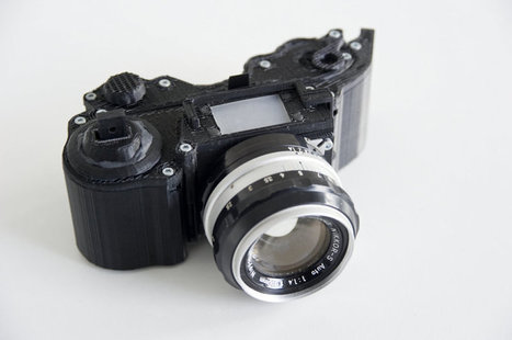 Un étudiant nous propose un appareil photo libre en impression 3D pour 25 € | Learning | Scoop.it